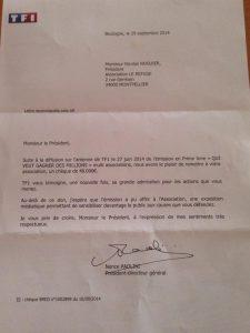Le cadeau financier de TF1 au Refuge