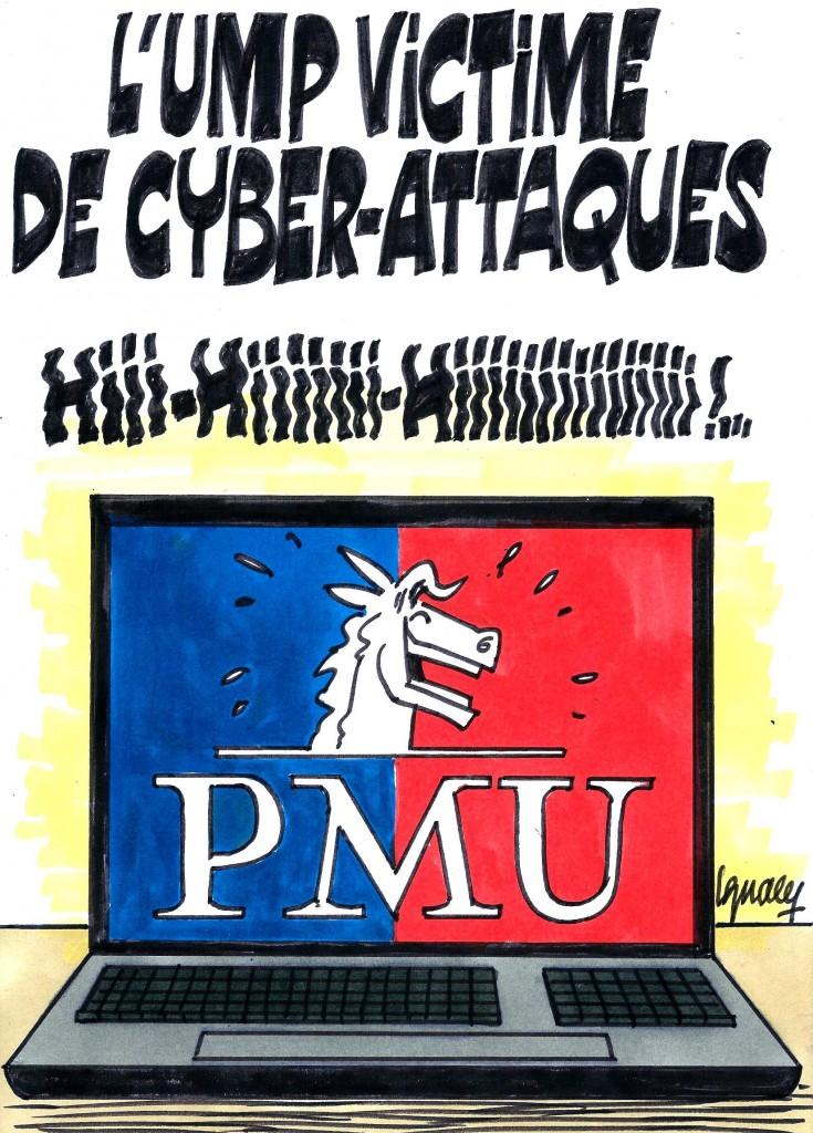 Ignace - Le site de l'UMP piraté