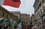 Rome – Les quartiers populaires manifestent contre l'immigration