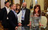 """La présidente de l'Argentine adopte un Juif pour éviter """"qu'il se transforme en loup-garou"""""""