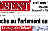 """""""Le coup de Civitas""""  par Présent: une crèche bénie par Mgr Fellay au Conseil de l'Europe"""