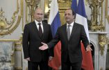 Visite Surprise de Hollande à Poutine au Kremlin aujourd'hui samedi! Du Mistral dans l'air ? (Vidéo)