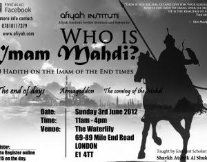 hadith-Imam-Mahdi-poster-London
