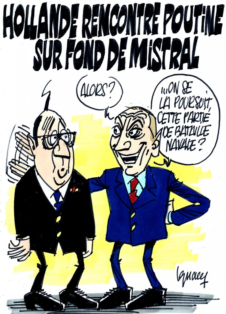 Ignace - Hollande rencontre Poutine