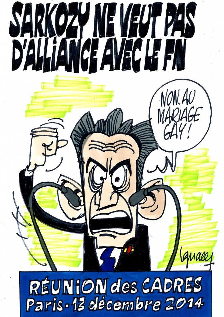 Ignace - Sarkozy ne veut pas d'alliance avec le FN