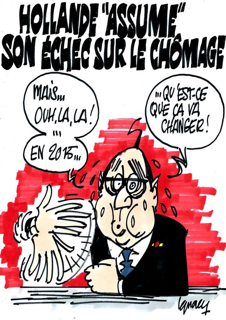 """Ignace - Hollande """"assume"""" son échec sur le chômage"""