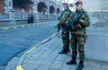 Les paras déployés à Anvers