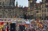 Pegida a rassemblé plus de 20.000 personnes à Dresde cet après-midi