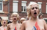 Les Femen tentent de sortir de l'oubli en perturbant le vote de Marine Le Pen. Bof…