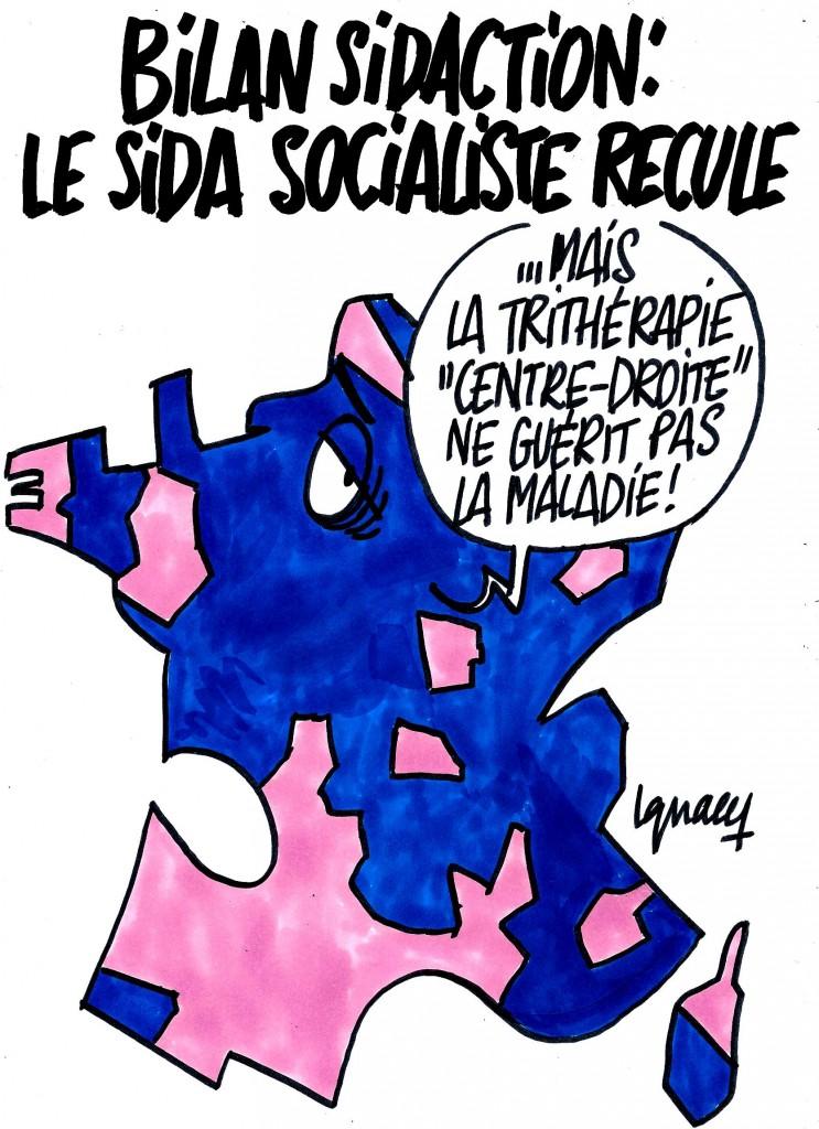 Ignace - Le sida socialiste recule
