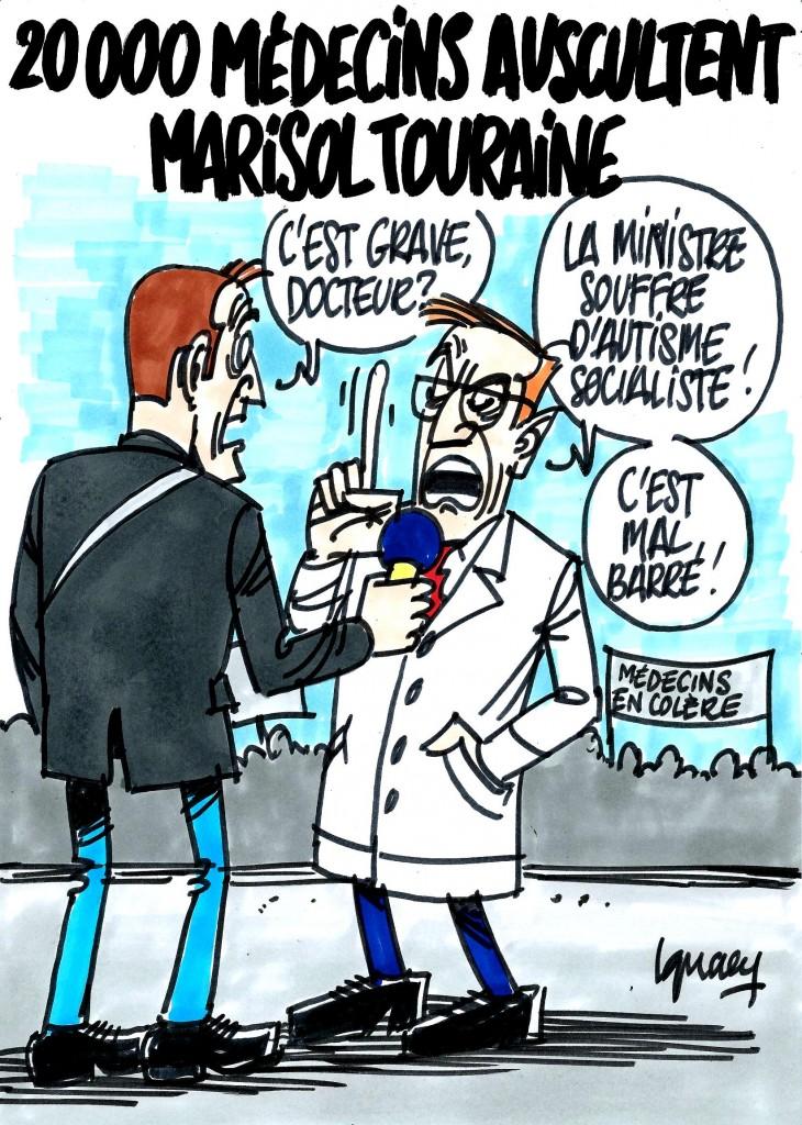 Ignace - 20000 médecins auscultent Marisol Touraine