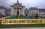 Génération Solidaire campe dans les jardins de la préfecture de Rouen