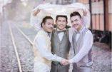 """Thaïlande : """"Mariage"""" homo à 3 ou le concept du """"trouple"""""""