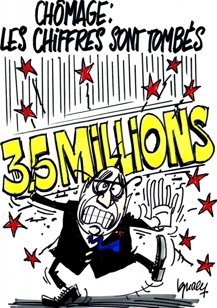 Ignace - 3,5 millions de chômeurs