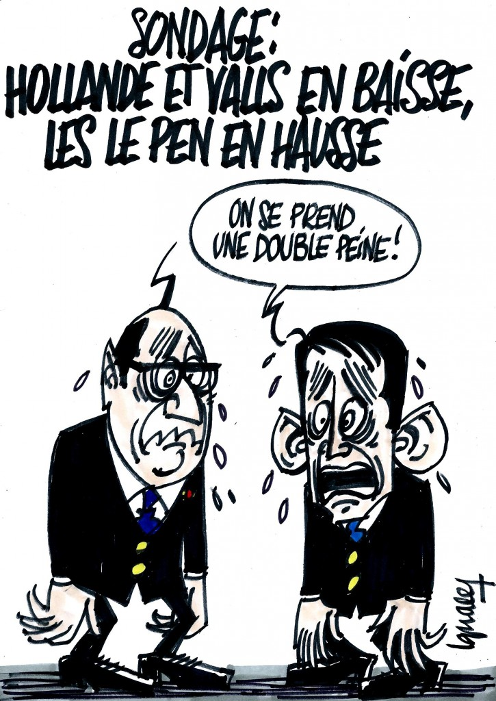 Ignace - Hollande et Valls baissent