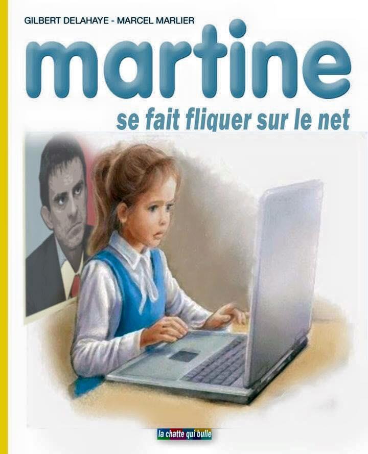 Humour Martine Se Fait Fliquer Sur Le Net Medias Presse Info