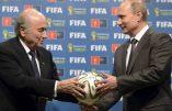 """Relations USA/Russie au plus bas: Vladimir Poutine dénonce la justice yankee contre la FIFA et dresse une """"liste noire"""" de personnalités interdites en Russie"""
