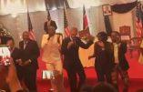 Danse africaine avec Barack Obama