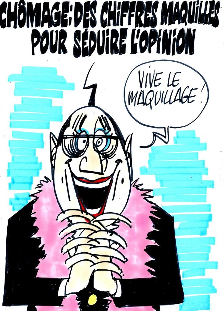 Ignace - Chiffres du chômage maquillés