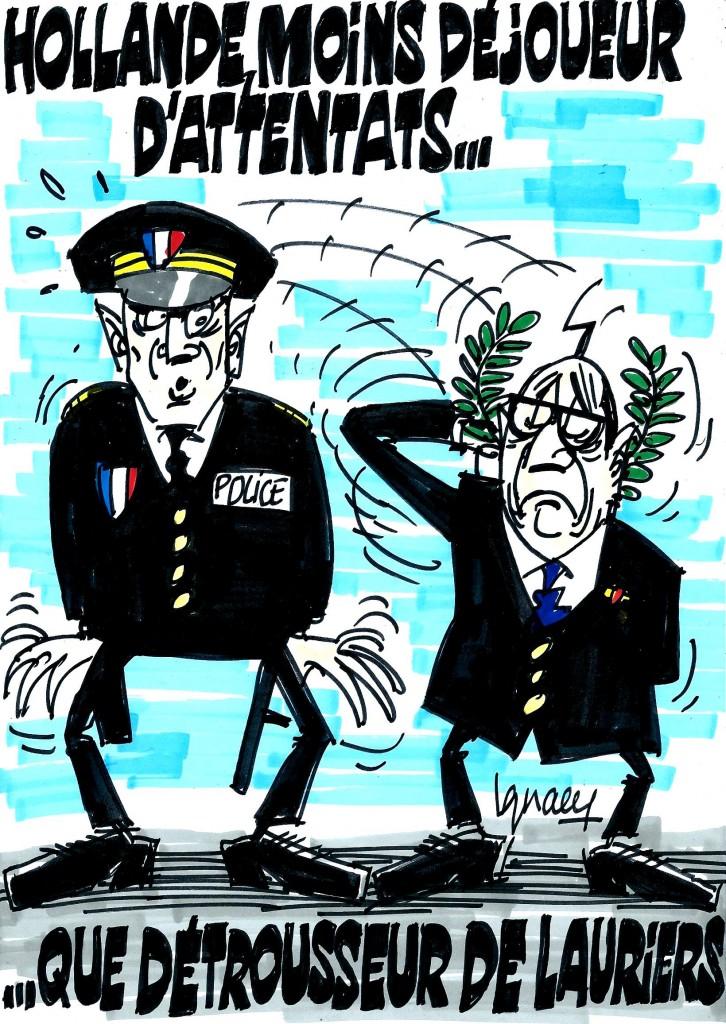 Ignace - Hollande et l'attentat déjoué