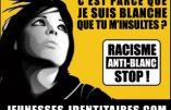 """Un muzz dénonce le racisme anti-blanc:  """"t'aime pas la France, tu la quittes!"""""""