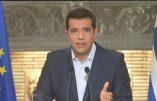 Blâmé par sa majorité, Tsipras est contraint à la démission – Vidéo