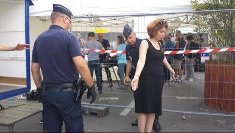Ouverture de Tel Aviv sur Seine avec près de 500 policiers et des dizaines de journalistes