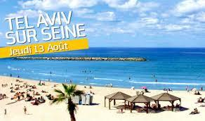 """Anne Hidalgo organise une journée """"Tel Aviv sur Seine"""" dans le cadre de Paris Plages"""