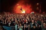A Budapest, des milliers de supporters de foot manifestent contre l'immigration-invasion
