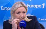 """Marine Le Pen : """"Poutine fait ce que la France aurait dû faire"""" – Immigration, économie, régionale, race blanche, etc."""