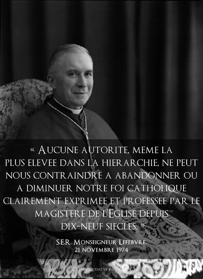 citation Mgr Lefebvre