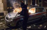 Londres – Heurts entre la police et des Anonymous anticapitalistes