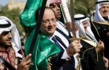 F.Hollande veut faire agiter le drapeau arabe? Ah non! cette fois-ci ce serait plutôt le drapeau tricolore… Car le FN tient toujours la tête des sondages