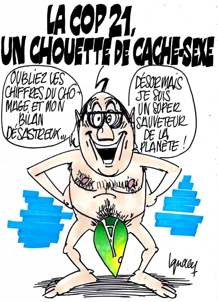 Ignace - La Cop 21, cache-sexe de Hollande