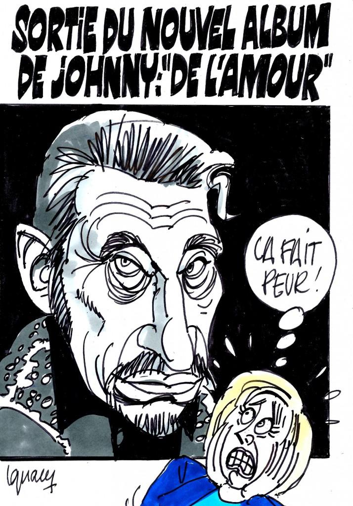 "Ignace - L'album de Johnny ""De l'amour"", sort aujourd'hui"