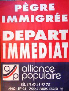 alliance populaire