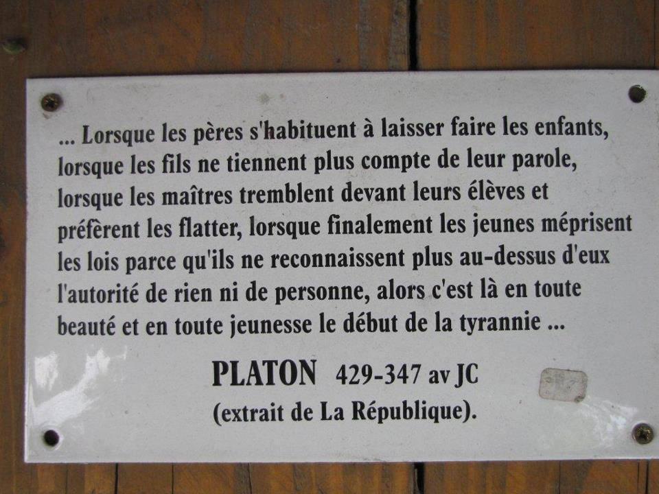 citation Platon