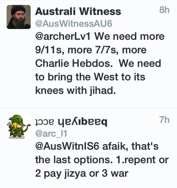 faux tweet islamiste
