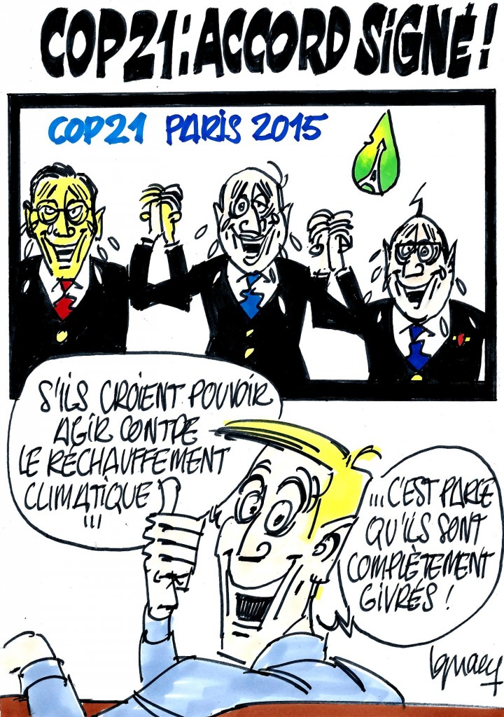 Ignace - COP21 : accord signé !