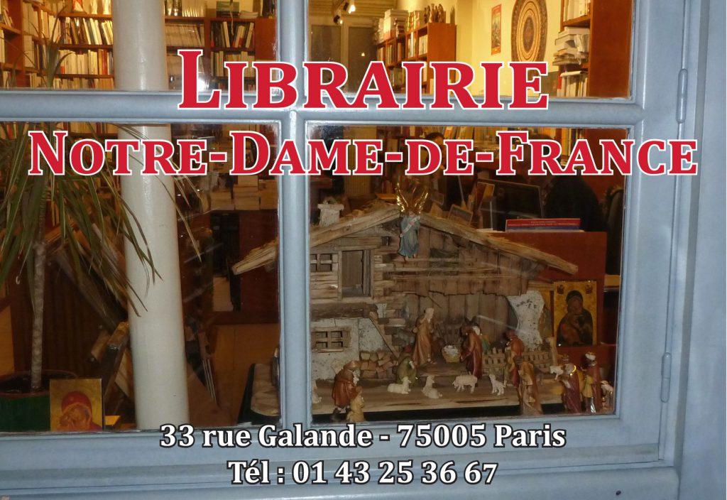 librairie Notre-Dame de France