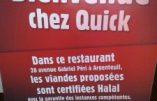 L'accord est signé : les Quick sont 100% halal