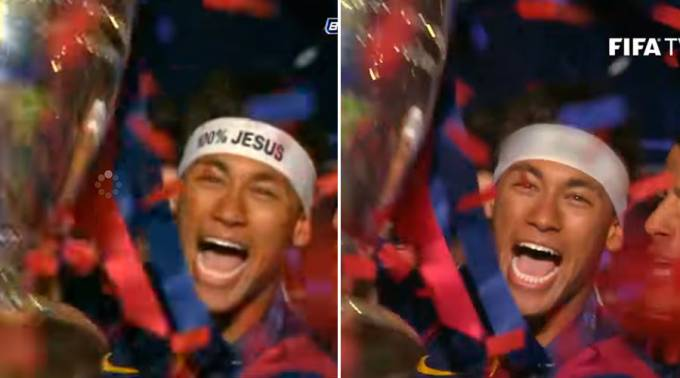 Neymar Vincha Jesus-censure
