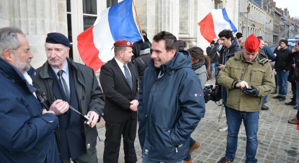 Soutien dvt Palais de Justice Boulogne