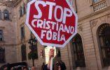 Affiche blasphématoire pour la gay pride de Valence