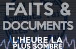 Quelle suite pour Faits & Documents après la disparition d'Emmanuel Ratier ?