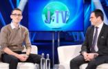 Lancement de J-TV, une chaîne YouTube juive, à la Chambre des Communes à Londres