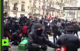 Les casseurs d'extrême gauche profitent de la manifestation anti-loi Travail