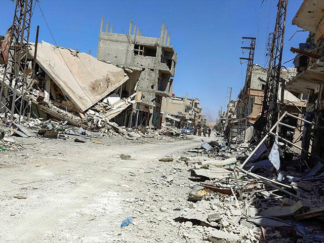 Libération des localités syriennes : 21 chrétiens massacrés par les islamistes à Al-Qaryatain et vidéo des ruines du plus vieux monastère catholique
