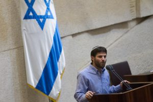 Jewish Home parliament member Bezalel Smotrich adresses the Israeli parliament on November 16, 2015. Photo by Miriam Alsterl/Flash90 *** Local Caption ***  ????? ???? ???? ??? ???? ??? ?????  ????? ???? ???????'