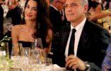 350.000 dollars pour dîner chez George et Amal Clooney et financer Hillary Clinton